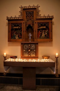 All Saints Candles 1