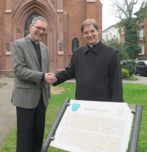 Cheque from Limburg Diocese